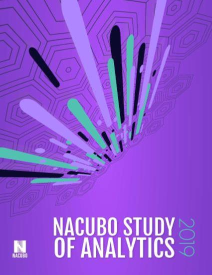 2019 NACUBO Study of Analytics