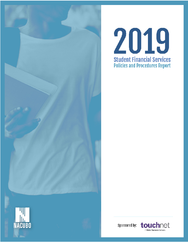 2019 Student Financial Services Policies and Procedures Report Cover