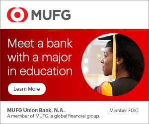 MUFG Union Bank - Meet a bank with a major in education