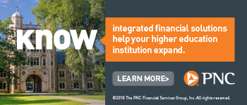 PNC. Integrated financial solutions help your higher education institution expand.